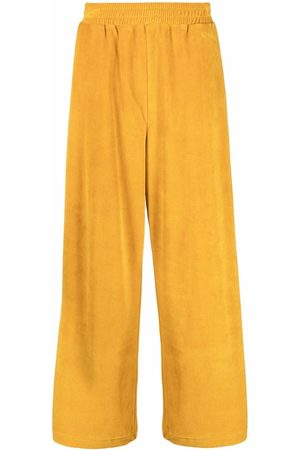 SUNNEI Embroidered-logo wide-leg track trousers