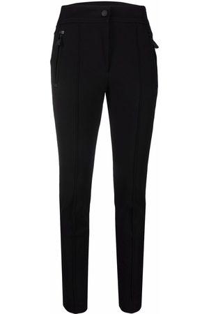 Moncler Zip-pockets slim-cut trousers