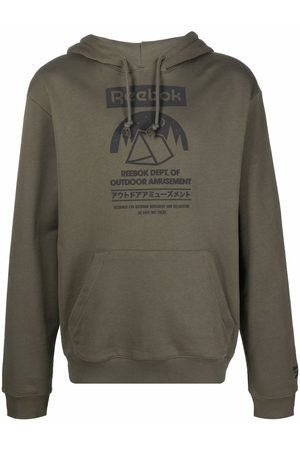 Reebok Outdoor Dept. graphic-print hoodie