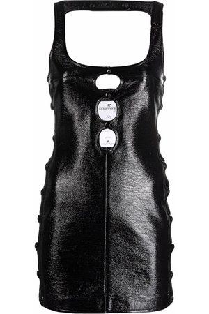 Courrèges Women Party Dresses - Cutout-detail mini dress