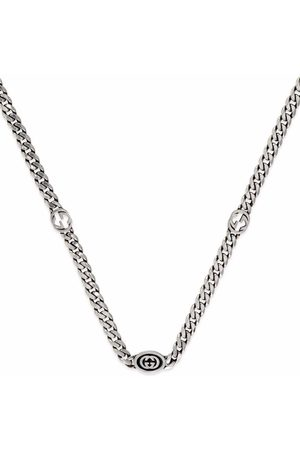 Gucci Interlocking G curb-chain necklace