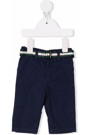 Ralph Lauren Straight-leg belted trousers