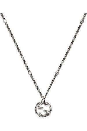 Gucci Men Necklaces - Interlocking G chain necklace