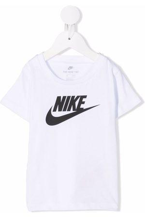 Nike Futura logo-print cotton T-shirt
