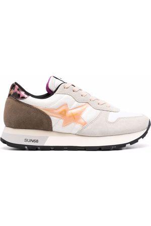 sun68 Panelled colour block sneakers
