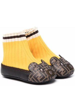 Fendi Shoes - FF-print pre-walkers