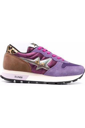 sun68 Colourblock panelled sneakers
