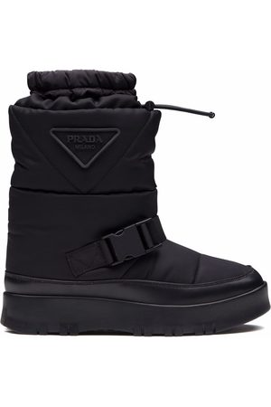 Prada Padded gabardine boots