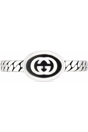 Gucci Men Rings - Thin Interlocking G ring