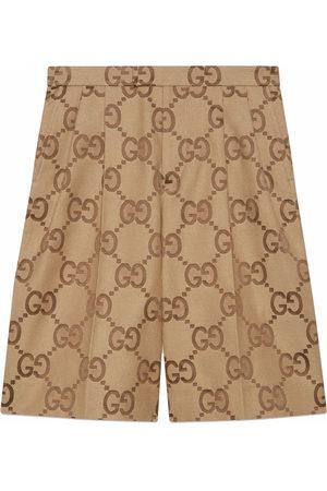 Gucci Jumbo GG canvas shorts - Neutrals