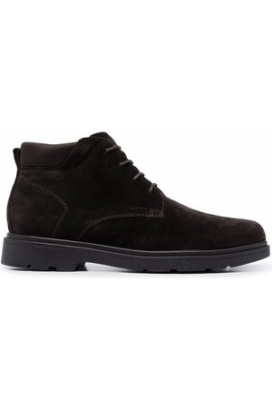 Geox Men Ankle Boots - Lace-up suede ankle boots