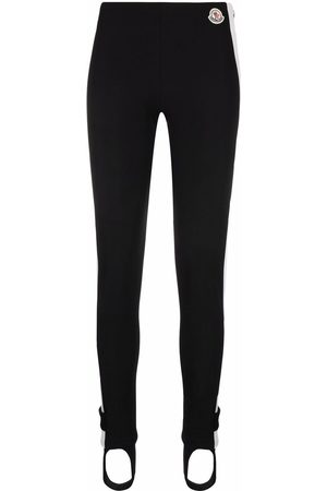 Moncler Women Leggings - High-waist stirrup leggings