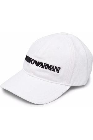 Emporio Armani Men Caps - Embroidered logo baseball cap