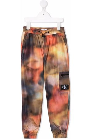 Calvin Klein Boys Tracksuits - Blurred print joggers