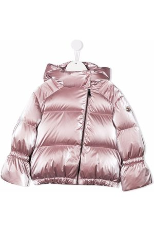 Moncler Girls Puffer Jackets - Padded down hooded jacket