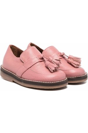 PèPè Girls Ballerinas - Leather tassel loafers