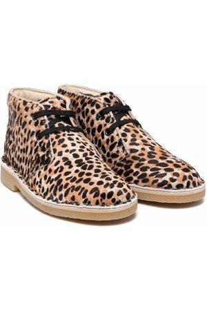 Clarks Leopar-print ankle boots - Neutrals