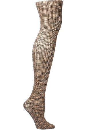 Wolford Women Stockings - Woman Granular Poison 30 Denier Stretch-jacquard Tights Size XS