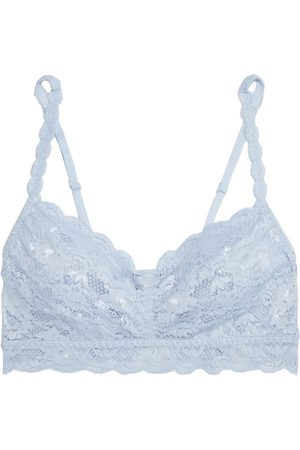 Cosabella Women Bralettes - Woman Never Say Never Sweetie Scalloped Stretch-lace Bralette Light Size L