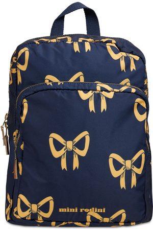 Mini Rodini Bow Print Recycled Nylon Backpack