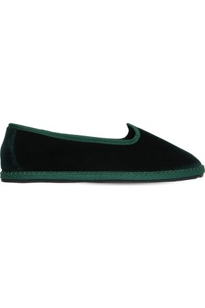 VIBI VENEZIA 10mm Laguna Velvet Loafers