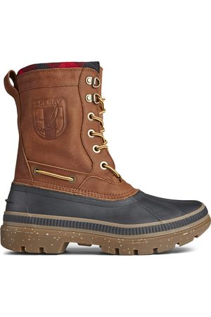 Sperry Top-Sider Men Snow Boots - Men's Sperry Ice Bay Tall Boot /Tan, Size 7M