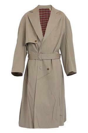 Balenciaga Men Trench Coats - Oversized trench coat