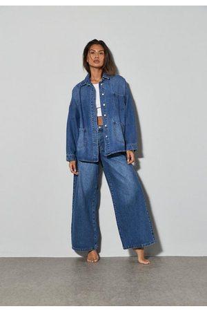 Missguided Women Wide Leg - Co Ord Wide Leg Jeans