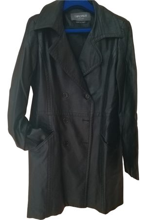 Camomilla Leather peacoat
