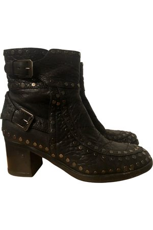 LAURENCE DACADE Leather biker boots