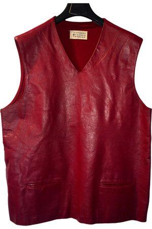 Maison Martin Margiela Leather vest