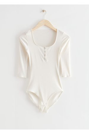 & OTHER STORIES Buttoned Bodysuit