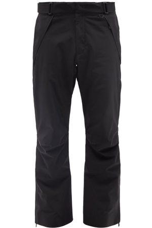 Moncler Men Ski Suits - Zipped-ankle Soft-shell Ski Trousers - Mens - Black