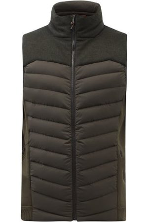Sease Warmer Quilted-down Gilet - Mens - Green