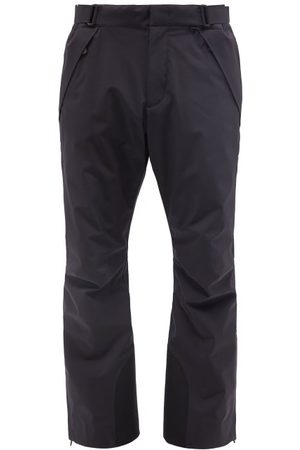 Moncler Zipped-ankle Soft-shell Ski Trousers - Mens - Green