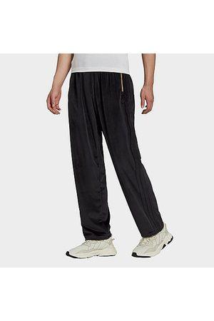 adidas Men Sweatpants - Men's Originals Adicolor Velour Track Pants Size X-Small Polyester/Velour
