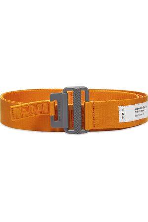 Heron Preston Tape Belt 4Cm Classic Buckle