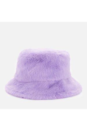 Stand Studio Women Hats - Women's Wera Faux Fur Bucket Hat