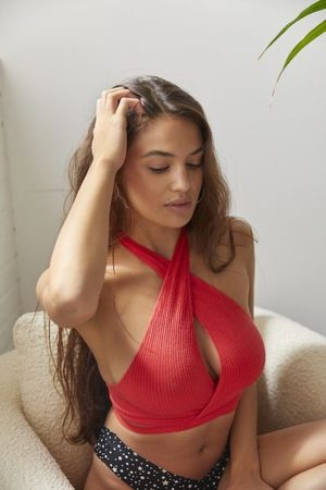 Out From Under Either Way Seamless Wrap Bra Top