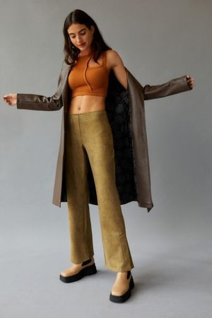 Urban Outfitters UO Vivica Low Rise Faux Leather Pant