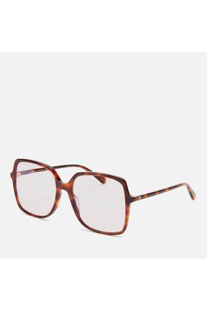 Gucci Women Square - Women's Oversized Square Acetate Blue Light Glasses