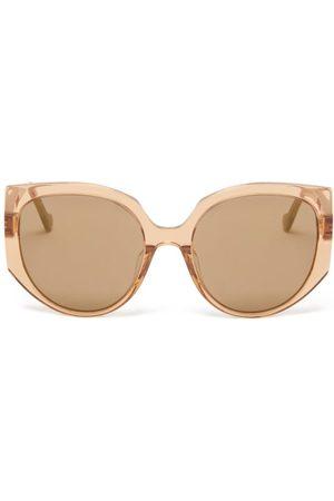 Loewe Cat-eye Acetate Sunglasses - Womens