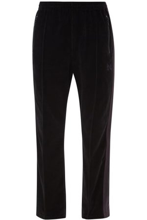 Pins & Needles Men Sweatpants - Side-stripe Cotton-blend Velour Track Pants - Mens
