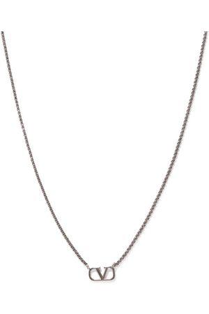 VALENTINO GARAVANI V-logo Chain Necklace - Mens