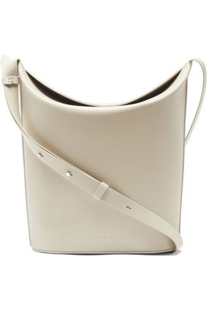 Aesther Ekme Sway Leather Bucket Bag - Womens - Ivory
