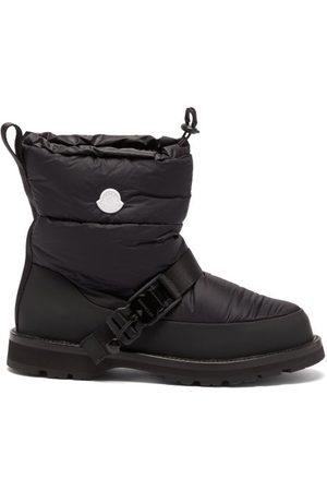 4 Moncler Hyke Mhyke Quilted-nylon Snow Boots - Mens