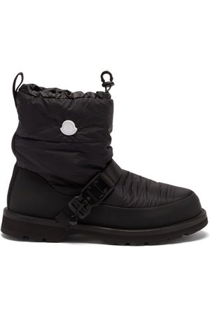 4 Moncler Hyke Padded Snow Boots - Mens - Grey
