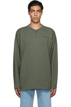 Martin Asbjorn SSENSE Exclusive Green Cooper Rugby Polo T-Shirt