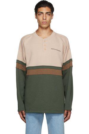 Martin Asbjorn Pink & Green Organic Cotton Samuel Long Sleeve T-Shirt