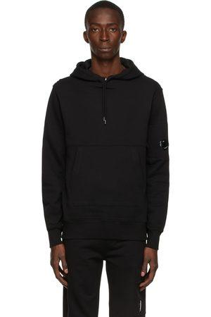 C.P. Company Black Diagonal Raised Hoodie